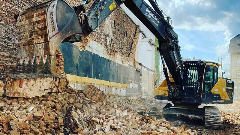 Abbrucharbeiten in Diez und Umgebung